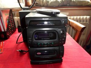 Combina audio Sharp foto