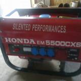 GENERATOR MARCA HONDA EM 5500 CXS - Generator curent Matrix, Generatoare sudura