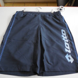 Bermude barbati Lotto, Microfibra - PANTALONI SCURTI BERMUDE SHORT LOTTO NEAL DB NAVY