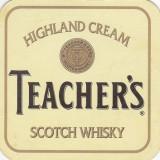 Suport de pahar / Biscuite TEACHER'S - Cartonas de colectie