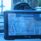 GPS North Cross ES 515 sigilat diagonala 5 inch, IGo Primo (meniu romana), full harti Romania si Europa, Comanda vocala, Harta online, Redare audio, Sugestii multiple de cai