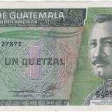 Bancnota Straine - Bancnota - Republica Guatemala - 1 Quetzal 2011
