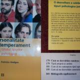 PERSONALITATE SI TEMPERAMENT ~ Ghidul tipurilor psihologice - Patricia Hedges - Carte Psihologie humanitas