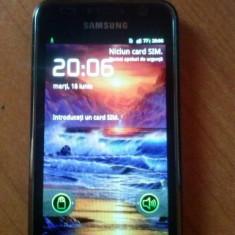 Samsung galaxy s 1 - Telefon mobil Samsung Galaxy S, Negru, 8GB, Neblocat