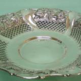 Un superb bol, fructiera vintage italian an 1959 argint 800, Vas