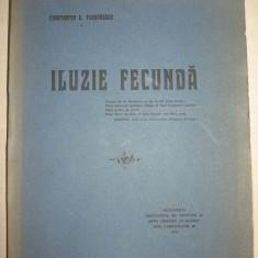 CONSTANTIN C.TEODORESCU - ILUZIE FECUNDA - POEME / 1916 - EDITIE DE LUX - Carte de lux
