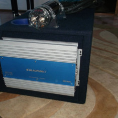 Subwofer auto profesionala -linie completa audio - Amplificator auto