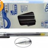 Pix cu gel 0.5mm, negru /3440
