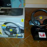THRUSTMASTER-volan si pedale Ferrari GT 2-in-1 Rumble force compatibil cu PC si PlayStation