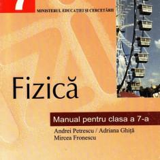 FIZICA - MANUAL PENTRU CLASA A VII A de ANDREI PETRESCU ED. ALL - Manual scolar all, Clasa 7