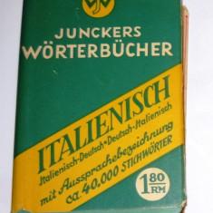 Dictionar de buzunar German - Italian / Italian - German - 580 pag - 2+1 gratis toate licitatiile - RBK2519