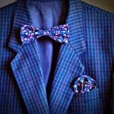 Papioane Papion + Batista Batiste de buzunar [Elegant Casual Fashion Trend - Cravate Unisex Club 2013][BowTie] - Cravata Barbati