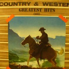 Country & Western - GREATEST HITS III - Muzica Country electrecord