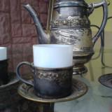 Serviciu cafea - Metal/Fonta