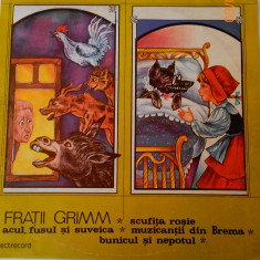 Basme de Fratii Grimm - Muzica pentru copii electrecord