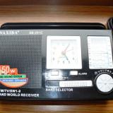 Aparat radio, Analog - Radio cu ceas