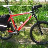 Mountain Bike Nespecificat Cannondale F8, 26 inch, Numar viteze: 27, Aluminiu, Rosu, MTB XC Hardtail