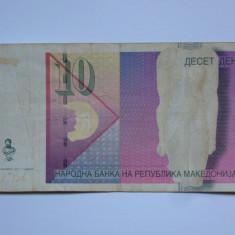10 dinari MACEDONIA 2011