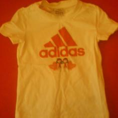 Tricou Adidas fetite - Original 100%, Culoare: Alb, Alb