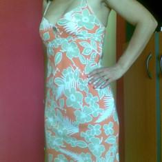 Rochie de zi Roxy Life marimea M, adusa din Franta! Arata excelent!, Scurta, Cu bretele, Vascoza