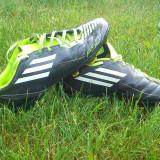 Vand ghete fotbal Adidas F50, Marime: 38, Negru, Copii