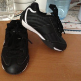 Adidasi copii Polo Sport, Baieti, Marime: 23, Negru - Pantofi sport copii US POLO ASSN nr 23