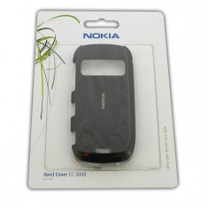 Husa/capac protectie spate Hard Cover NOKIA CC-3008 pentru C7, Black ORIGINALA SIGILATA BLISTER
