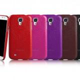 Husa Executive Piele Naturala Samsung Galaxy S4 i9500 by Yoobao Originala Black