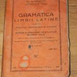 Curs limbi straine - TH SIMENSCHY - GRAMATICA LIMBII LATINE CUPRINZAND FONETICA, MORFOLOGIA SI SINTAXA SI NOTIUNI ELEMENTARE DE STILISTICA SI VERISFICATIE. ED A 2-A 1929