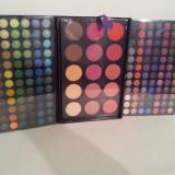 Trusa Profesionala de Machiaj /Make -up 183 Culori Farduri Mate si Sidefate+ Blushuri - Trusa make up