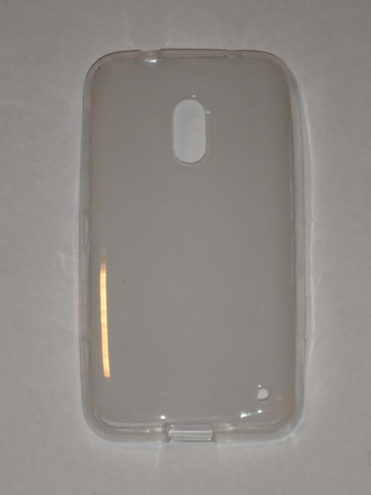 Husa silicon TPU, transparenta, Nokia Lumia 620 foto mare