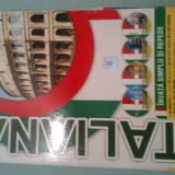 Curs limbi straine - Invata simplu si repede limba italiana (4 Audio CD - Manual - Ghid)