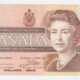 Bancnota Straine, America de Nord - CANADA 2 $ / 1986