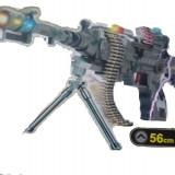 Pistol de jucarie - Mitraliera Muzicala 56cm cu lumina (CEL MAI IEFTIN)