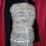 Bluza lunga tricotata f Shic!!!