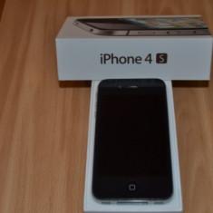 Vand iPhone 4s Apple 16GB Blocat orange RO, Negru