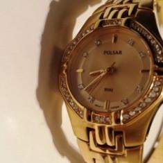 Ceas PULSAR oferta - Ceas dama Pulsar, Inox, Diametru carcasa: 27, 50 m / 165 ft / 5 ATM
