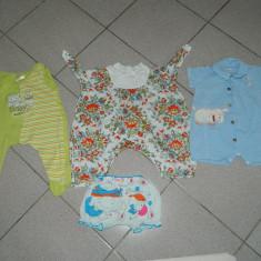 Haine Copii 0 - 6 luni, Compleuri, 62 (3-5 luni, inaltime 57 - 62 cm) - Set hainute pentru bebelusi, marimea 62-68 cm, pentru 0-6 luni