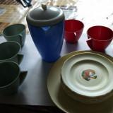Colectii - Set serviciu de ceai, cafea de jucarie !