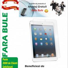 Folie protectie tableta - Folie de protectie iPad mini MONTAJ iNCLUS in Pret