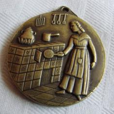 Placheta veche din bronz Barcelona, Europa