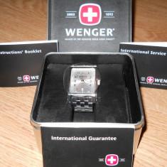 Ceas Wenger swiss military 7512x - Ceas barbatesc Swiss Military, Elegant, Analog