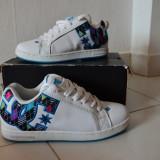 Adidasi dama Dc Shoes, Marime: 37, Alb - Vand DC Shoes