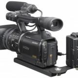 Pachet Camera video profesionala Sony HVR V1p cu hard disk 64gb 400x - 90 mb/sec - Camera Video Sony, 10-10.9 Mpx, CMOS, 3 - 4