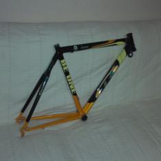 Piese Biciclete, Cadre si urechi - Cadru cursier carbon+furca carbon+tija sa carbon+roata fata
