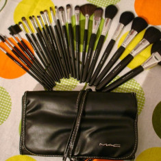 Pensula make-up - Trusa profesionala 24 pensule machiaj make up M.A.C / MAC