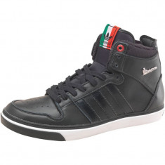 Ghete barbati Adidas, Piele naturala - Ghete Adidas Originals Vespa GS II Hi top ten piele 100% vespa italia pt toamna iarna