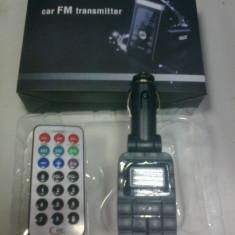 Modulator FM auto - Modulator Fm cu telecomanda !