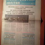 Ziarul muncitorul sanitar 28 noiembrie 1981 (al 12 -lea congres al partidului comunist roman )