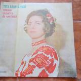 TITA BARBULESCU - ROMANTE SI CANTECE DE VOIE BUNA !
